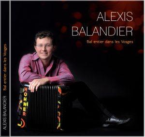 pochette cd Alexis BALANDIER Bal entier dans les Vosges